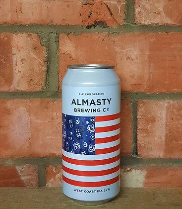 West Coast IPA – Almasty – 7% WC IPA