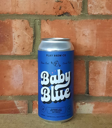 Baby Blue – Play – 7.2% Blueberry Gose with Honeyberry