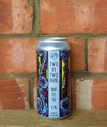 Snake Eyes – Two by Two – 4.7% Pale