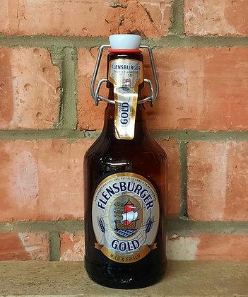 Gold – Flensburger – 4.8% Pale Lager