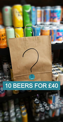 10 beers for £40
