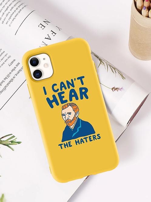 Case para iPhone Haters - Amarela