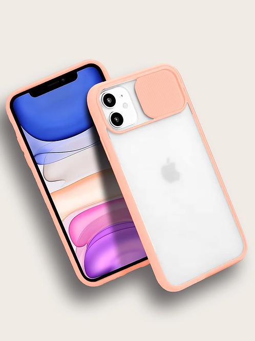 Case para iPhone Salmão - Translúcida