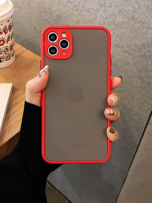 Case para iPhone Transparente - Vermelha