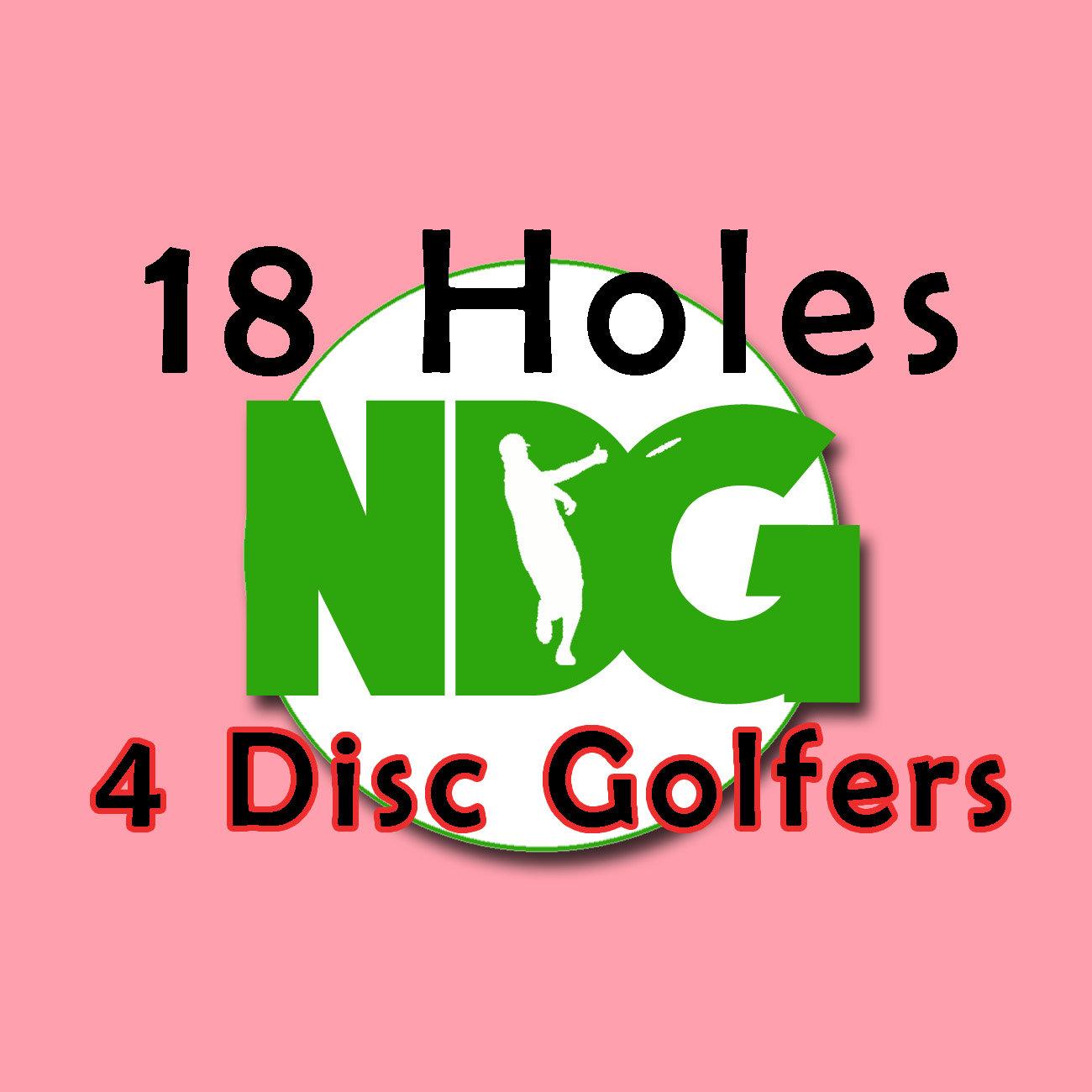 18 Holes: 4 Disc Golfers