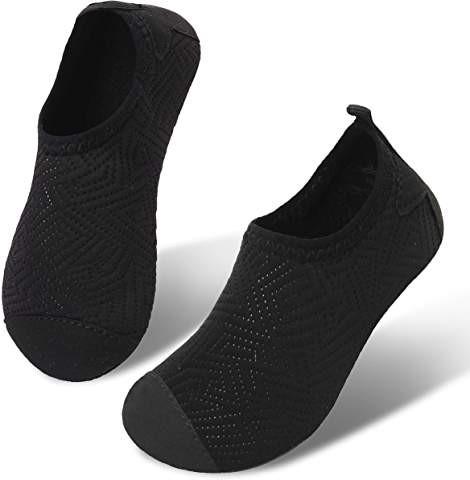 50c3bf54e27f15 JIASUQI Kids Boys and Girls Summer Athletic Water Shoes Aqua Socks for  Beach S