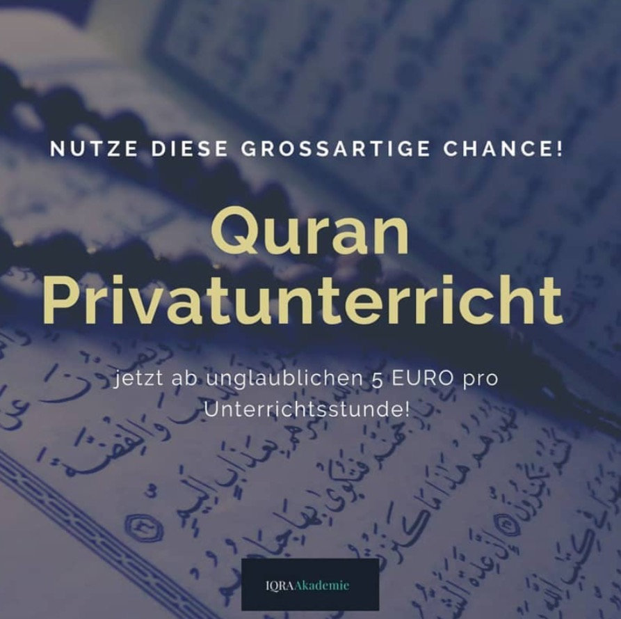 Monatspaket Quran Privatunterricht