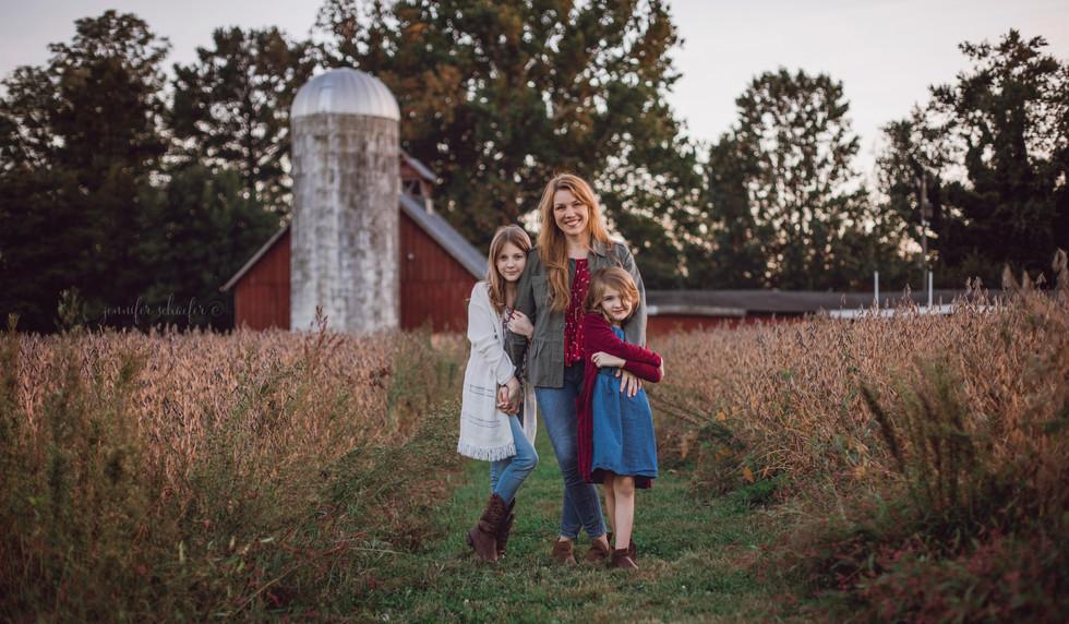 Jennifer Schaefer Photography - Maryland Portrait Photographer - Harford County, MD - Fall Family Photos - Fall Minis