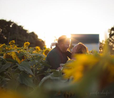Maternity Photography-Maryland Maternity-Jennifer Schaefer Photography-Sunflower Photography-The Miller's Farm-Harford County, Maryland