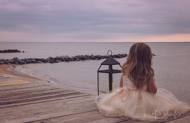 Chesapeake Beach Children's Portrait-Mar