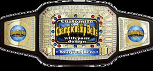 Custom Championship Award Belt