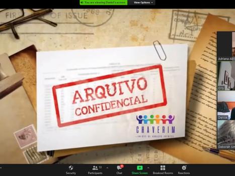 Arquivo Confidencial do Chaverim traz momento de colaboração e emoção aos participantes