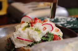 Artichoke Brunch - Feta Burrata