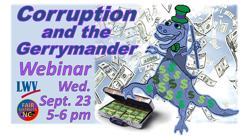 corruption and gerrymandering webinar pr