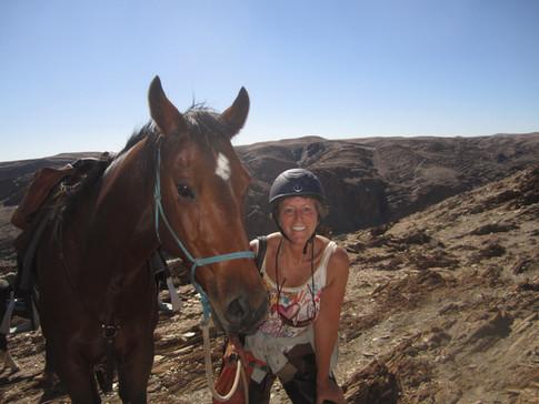 Above the Kuiseb, Namib Desert part of Epic Safari, Kathy Green