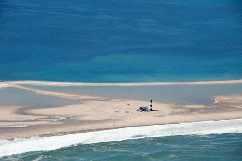 Walvis Bay Lighthouse Namibian coast