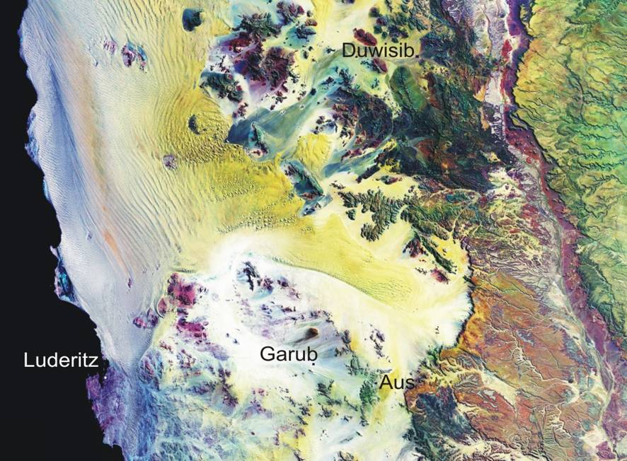Namibia Wild Horses area, Garub