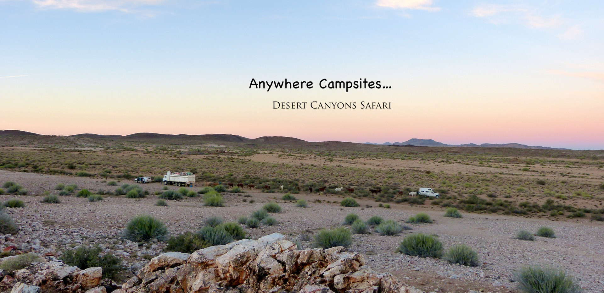 Camping anywhere