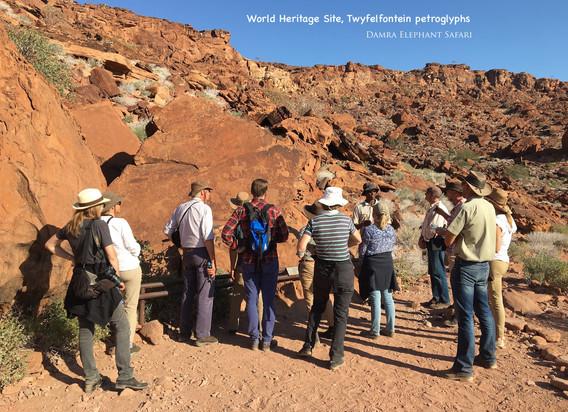 Twyfelfontein's petrogylphs