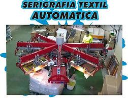 SERIGRAFIA TEXTIL AUTOMATICA IMPRESION CON PLATISOLES , LACAS AL AGUA, SERIGRAFIA BARATA DE GRAN CALIDAD,IMPRESION DE BOLSAS , IMPRESION EN MOCHILAS,MAQUINA SERIGRAFIA TEXTIL AUTOMATICA 6 COLORES,  PULPO AUTOMATICO TEXTIL 4 color 4 station screen printing t-shirt printing machine working video SERIGRAFIA TEXTIL EN LEGANES SERIGRAFIA RAPIDA SERIGRAFIA ECONOMICA MARCAJE TEXTIL PERSONACIZACION  TEXTIL
