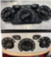 resaurador de interiores en madrid mando calefaccion aire acondicionado pegajoso numeros borrados luxegarage  supergarage coches de lujo madrid alta gama pn65802900