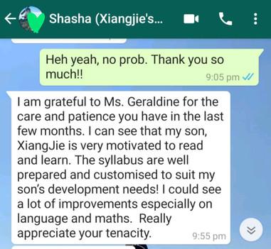 Therapist Geraldine