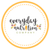 Welcome to everyday nutrition company!