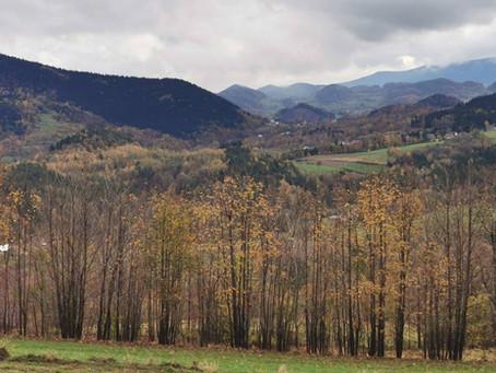 Główny Szlak Beskidu Wyspowego: Lubomir - Ciecień - Worecznik - Dalna Góra - Śnieżnica (Dzień 7)