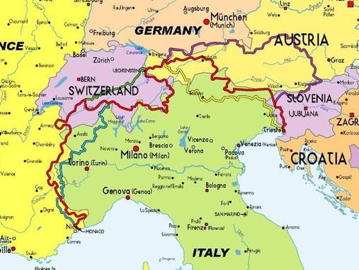 Via Alpina Red Trail - wyzwanie na rok 2021