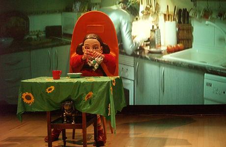 Viaje de MAtilde robot Spanish theatre.j