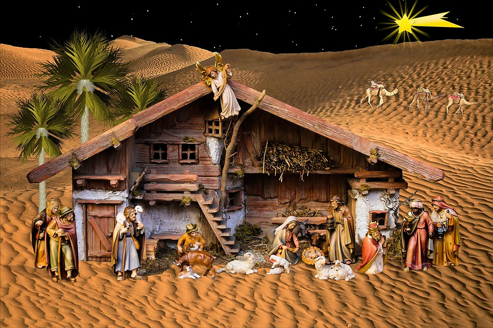 Arrival of the Three Kings to Bethlehem