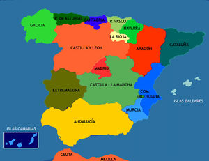 Kids Map Of Spain.Carnival Activities For Kids