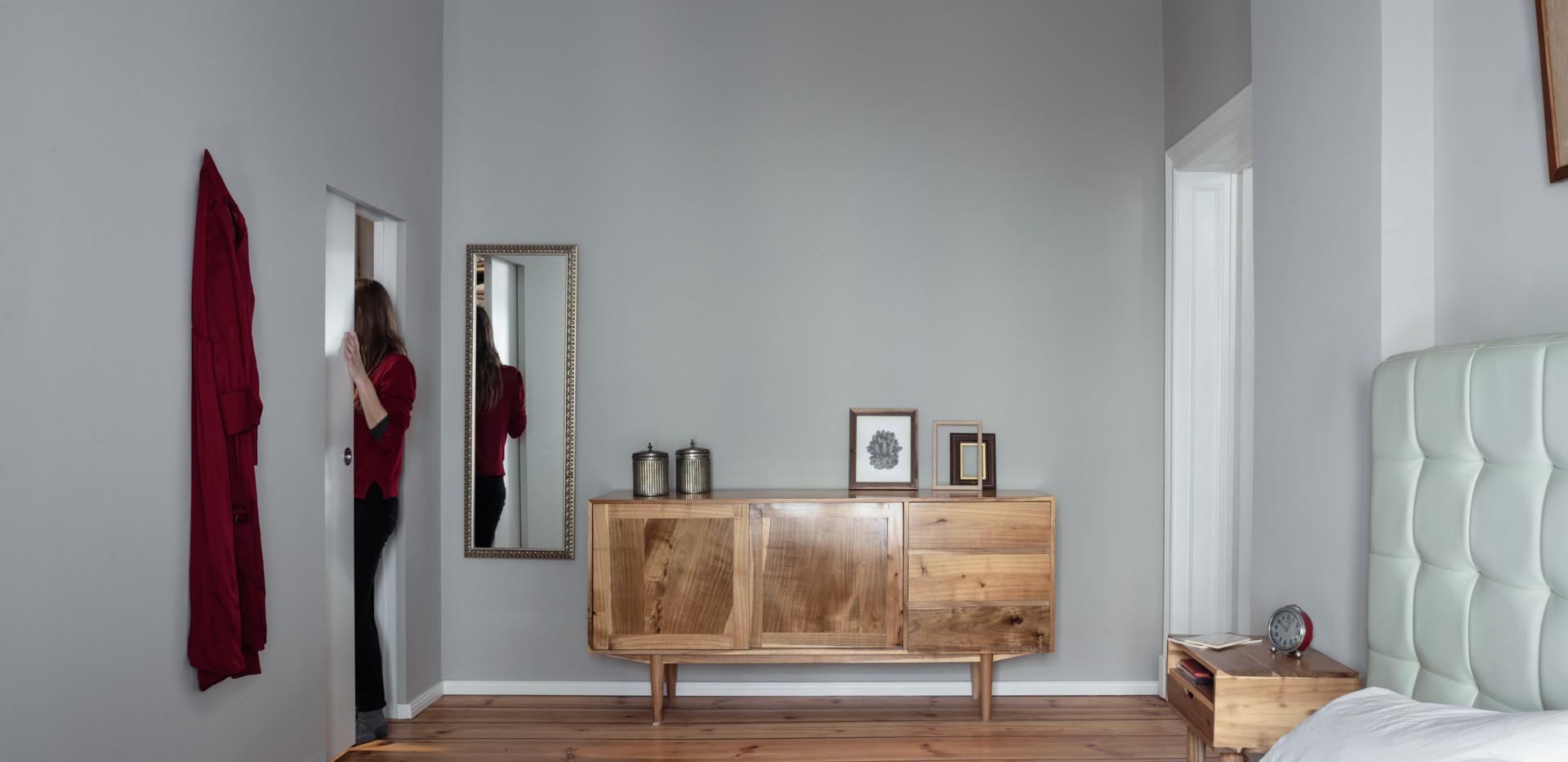 Altbau Schliemann Schlafzimmer