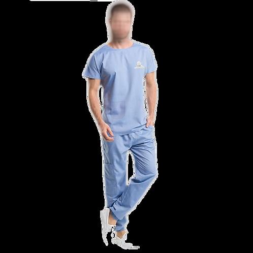 Pijama Cirúrgico Oficial Azul