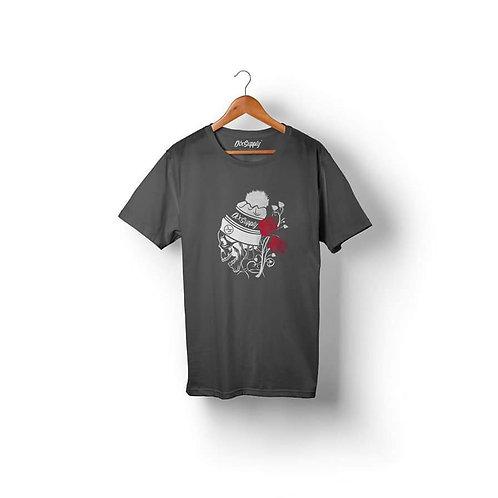 Camiseta Dix Supply  DSP006 Caveira e Rosas