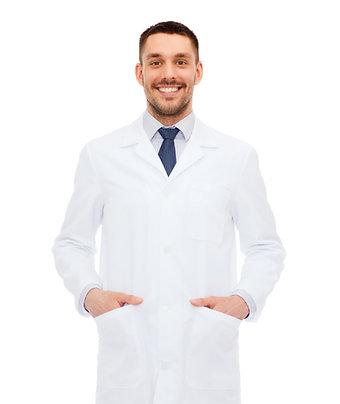 Jaleco Masculino Microfibra Pesada