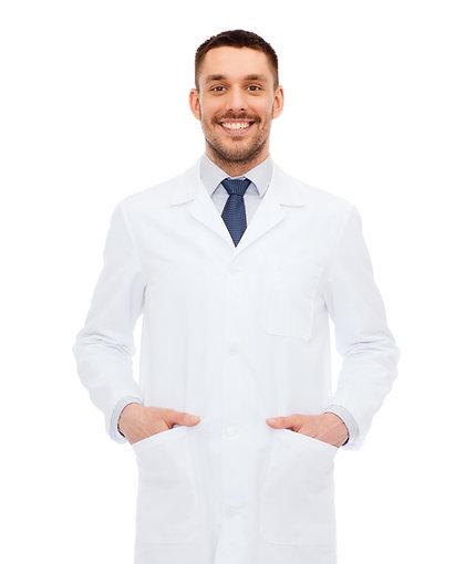 Jaleco masculino Microfibra ABN