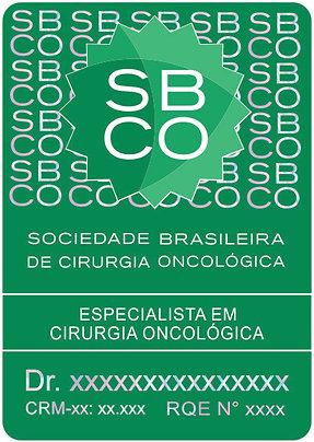 Selo Especialista SBCO (1000 Unidades )