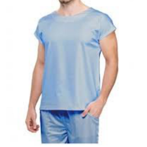 Pijama Cirúrgico gola trad. cor  Azul