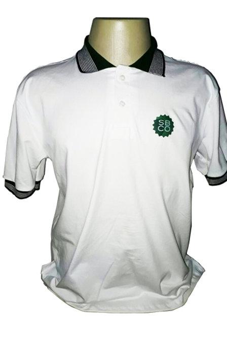Camisa Polo Branca SBCO