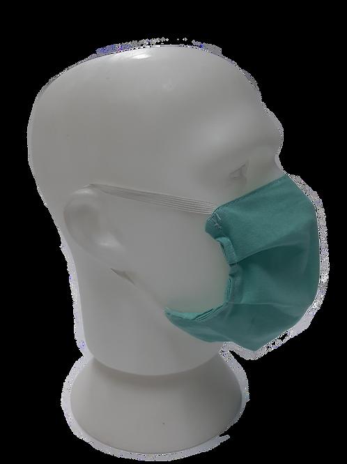 Pacote 04 Mascaras Orgânicas, reutilizável e esterilizável.