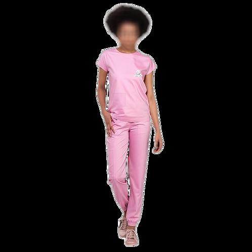 Pijama Cirúrgico Oficial Rosa