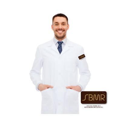 Jaleco Microfibra Gabardine SBMR