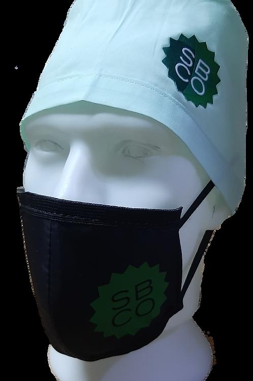 Máscara com Proteção Tripla  OMS/SBCO