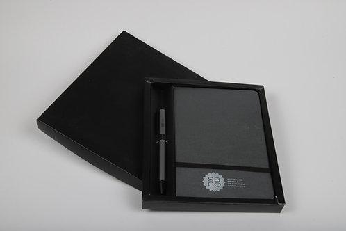 Kit Executivo Caneta Moleskine Silver SBCO
