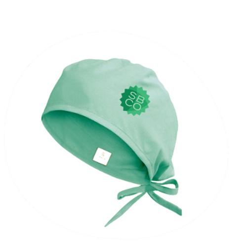 Touca Cirúrgica Verde SBCO