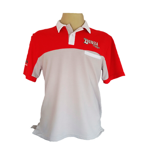 Uniforme polo Bicolor