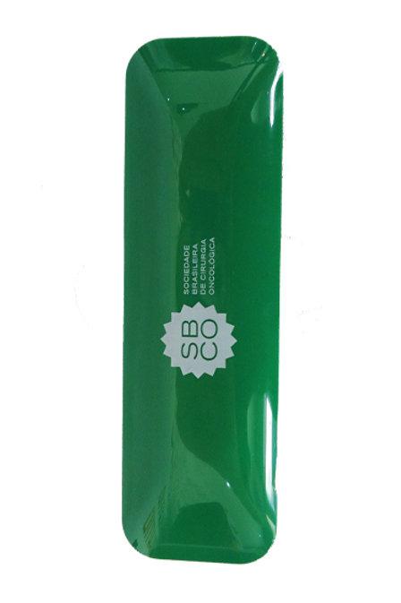 Estojo Lapiseira e Caneta verde SBCO