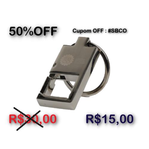 Chaveiro Silver Click SBCO