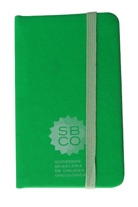 Caderneta moleskine verde SBCO